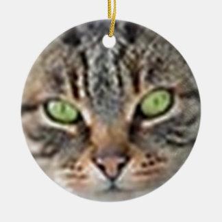 LoveCat Ceramic Ornament