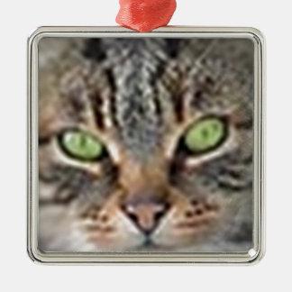 LoveCat Metal Ornament
