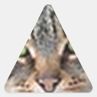LoveCat Triangle Sticker
