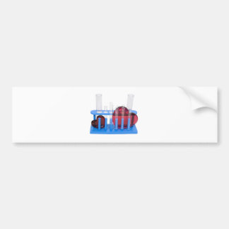 LoveChemistry071209 Bumper Sticker
