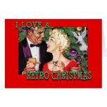 LoveChristmasCouple-GreetingCard Greeting Card