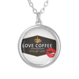 LoveCoffee Collar Personalizado