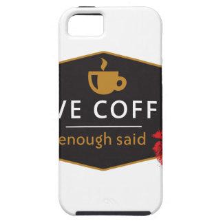 LoveCoffee iPhone 5 Case-Mate Carcasa