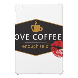 LoveCoffee iPad Mini Protector