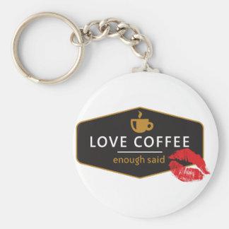 LoveCoffee Llavero