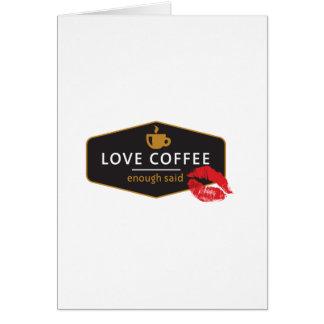LoveCoffee Tarjetas