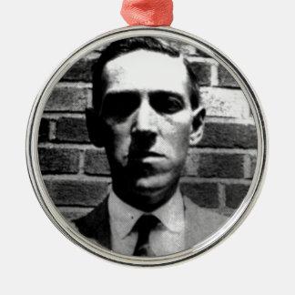 Lovecraft Adorno Navideño Redondo De Metal