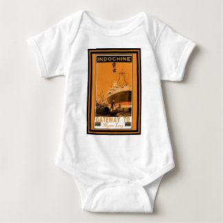 Lovecraft Cruise Lines: Mystic Leng Baby Bodysuit