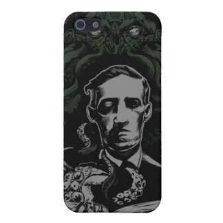 Lovecraft Cthulhu iPhone 5 Carcasa