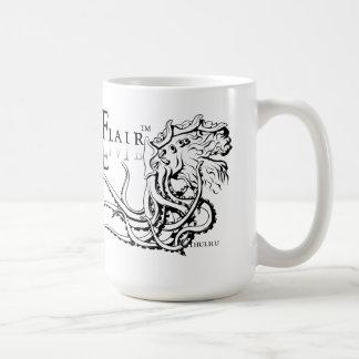 Lovecraftian Flair Mug: Cthulhu Black Ink Coffee Mug