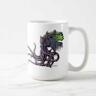 Lovecraftian Flair Mug: Cthulhu Color Ink Coffee Mug
