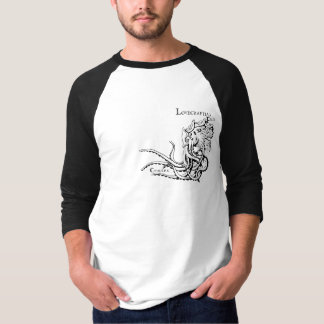 Lovecraftian Flair Shirt: Cthulhu 2 Black Ink T-Shirt
