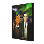 Lovecraftian Gothic canvas print (16x20)