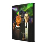 Lovecraftian Gothic canvas print (8x10)