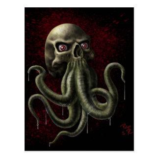 Lovecraftian Horror Postcard