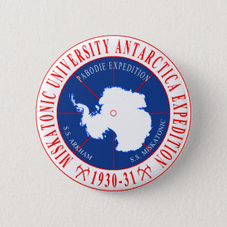 Lovecraft's Miskatonic Antarctica Expedition Pinback Button