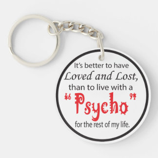 Loved and Lost | Divorce Keychain