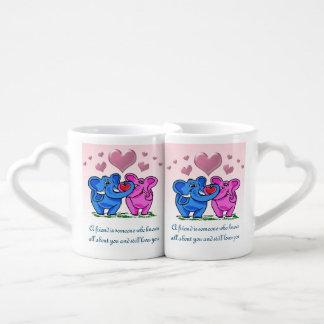 Loved Anyway lover's mug set