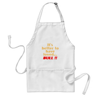 Loved... BULL Adult Apron