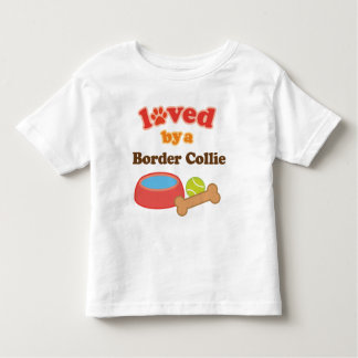 Loved By A Border Collie (Dog Breed) Toddler T-shirt