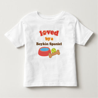 Loved By A Boykin Spaniel (Dog Breed) Toddler T-shirt