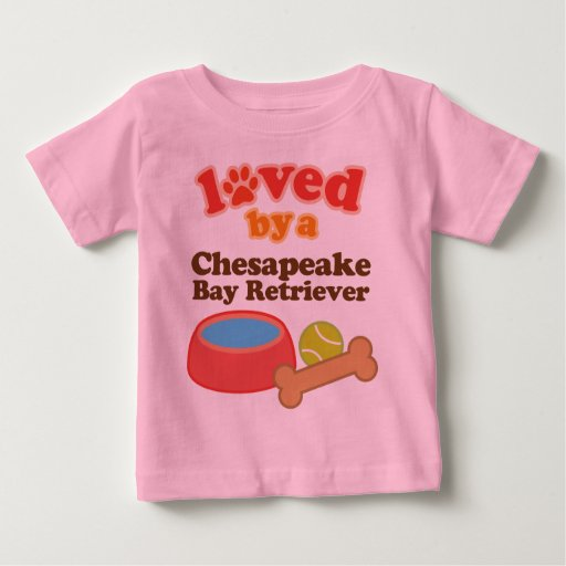Loved By A Chesapeake Bay Retriever (Dog Breed) T Shirts