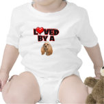 Loved by a Cocker Spaniel Bodysuits