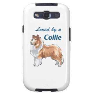 LOVED BY A COLLIE GALAXY S3 COVERS
