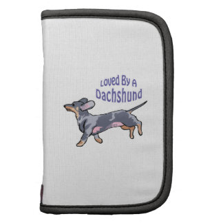 LOVED BY A DACHSHUND PLANNER