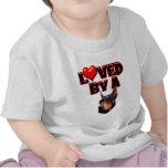 Loved by a Doberman 2 Shirt