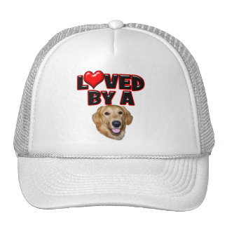 Loved by a Golden Retriever Hat