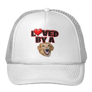 Loved by a Golden Retriever Trucker Hat