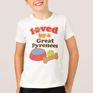 Loved By A Great Pyrenees (Dog Breed) T-Shirt