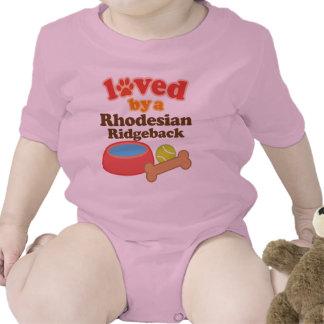 Loved By A Rhodesian Ridgeback (Dog Breed) Tshirt
