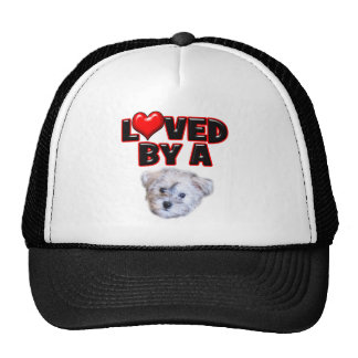 Loved by a Schnoodle Trucker Hat