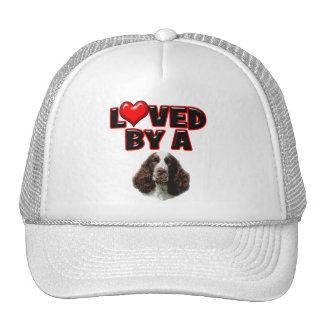 Loved by a Springer Spaniel Trucker Hat