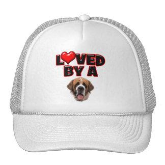 Loved by a St Bernard Trucker Hat