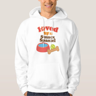 Loved By A Sussex Spaniel (Dog Breed) Hoodie
