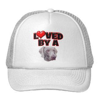 Loved by a Weimer Trucker Hat