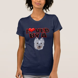 Loved by a Westie Shirt