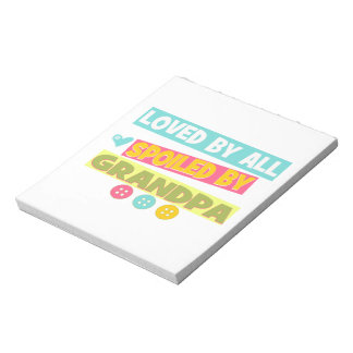 Loved By All Memo Pad