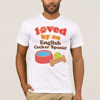 Loved By An English Cocker Spaniel (Dog Breed) T-Shirt