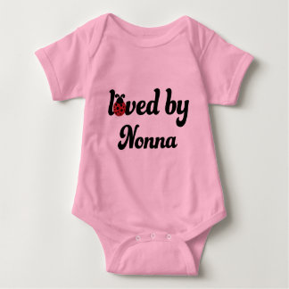 Loved By Nonna Gift Baby Bodysuit