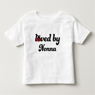 Loved By Nonna Gift Toddler T-shirt
