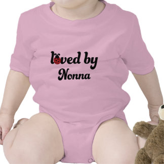 Loved By Nonna Gift Shirt