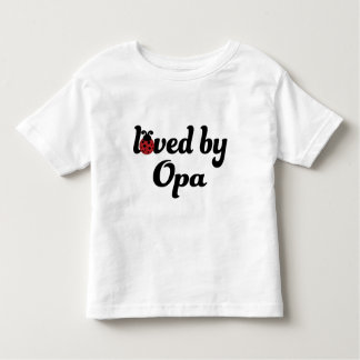 Loved By Opa Gift T Shirt