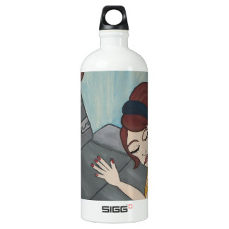 Loved Crossed Automotions Water Bottle