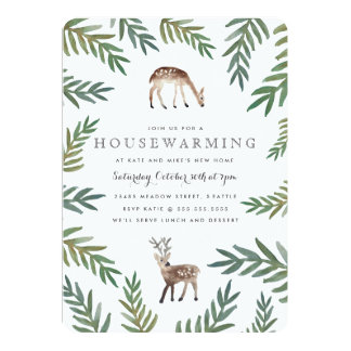 Loved Dearly Housewarming 5x7 Paper Invitation Card