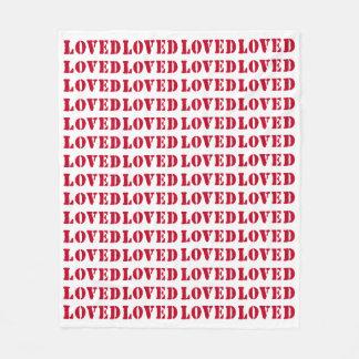 """Loved Fleece Blanket 50"""" x 60"""""""