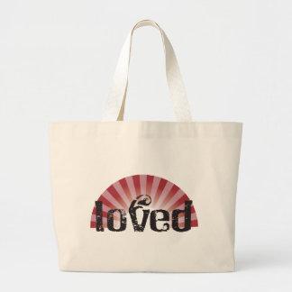loved jumbo tote bag